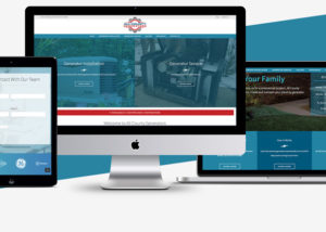 Generator Website Design
