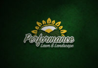 Performance Lawn & Landscape Logo Design